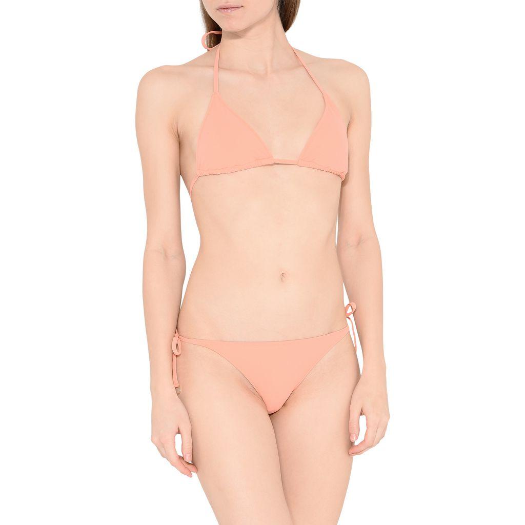Faded Coral Triangle Bikini Top - STELLA MCCARTNEY