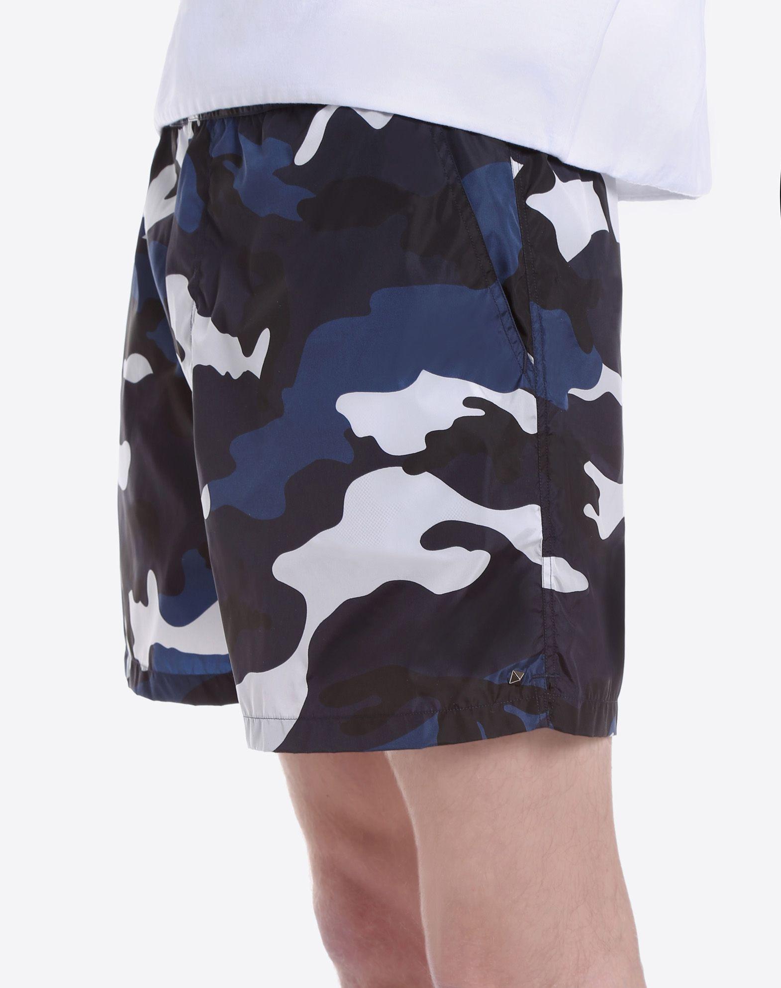 VALENTINO Techno fabric Snap-buttons, zip Internal slip Mid Rise Three pockets Studs  47201418vd