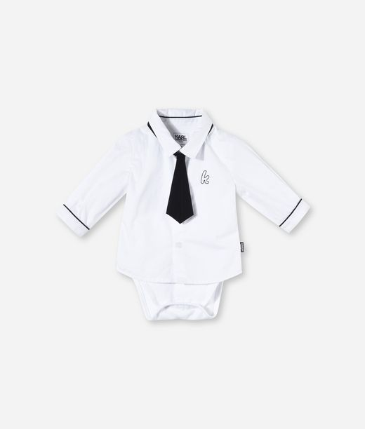 KARL LAGERFELD ROMPER SHIRT AND TIE 12_f
