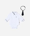 KARL LAGERFELD ROMPER SHIRT AND TIE 8_d