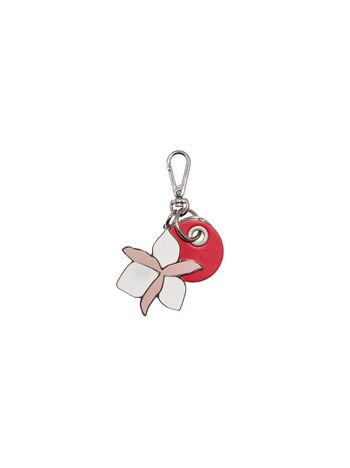 Marni Pendant in red leather Woman