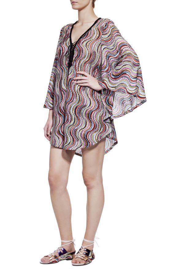 BEACHWEAR  - Short Beach Dress Missoni