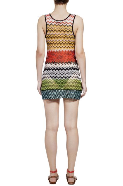 MISSONI MARE Short Beach Dress Red Woman - Front