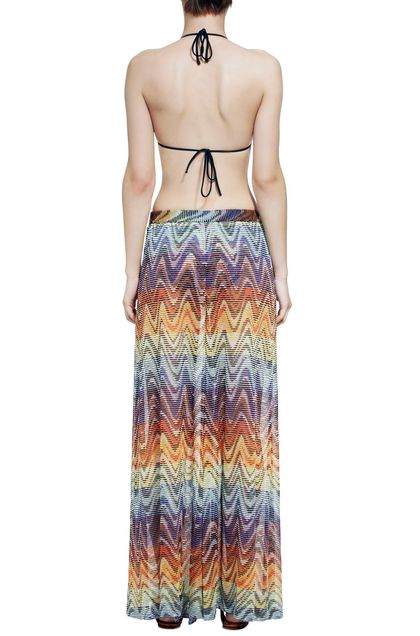 MISSONI MARE Beachwear pants Yellow Woman - Front