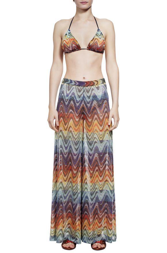 1f1ad530b86462 MISSONI Pantaloni mare Donna, Vista di fronte