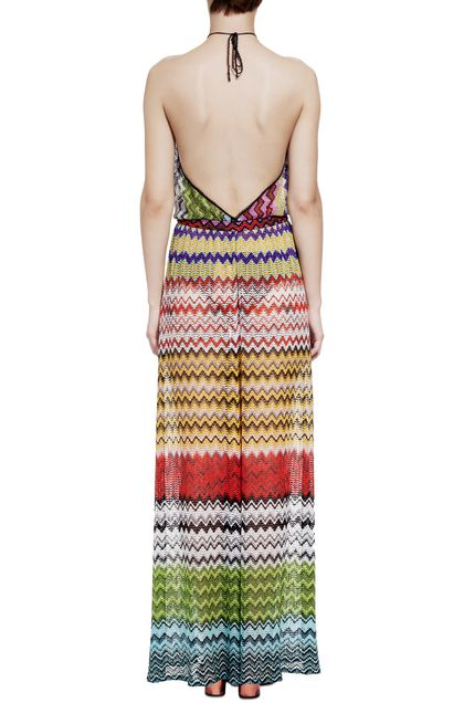 MISSONI MARE Beach Jumpsuit Ochre Woman - Front