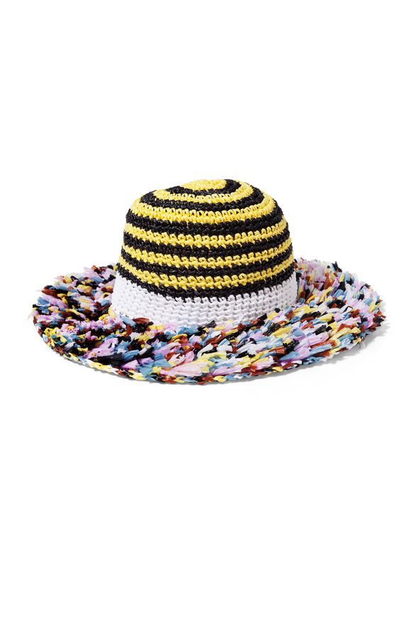 MISSONI Beach Hat Yellow Woman