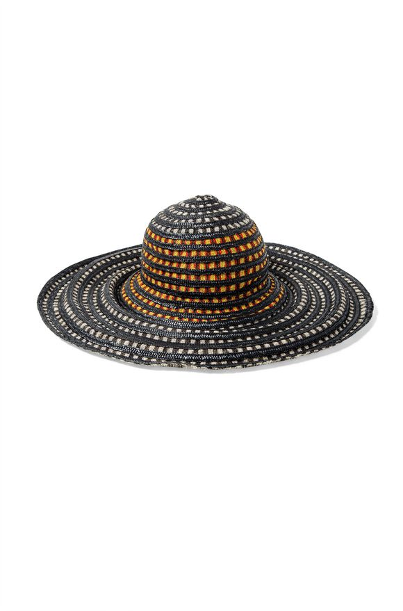 MISSONI Beach Hat Black Woman