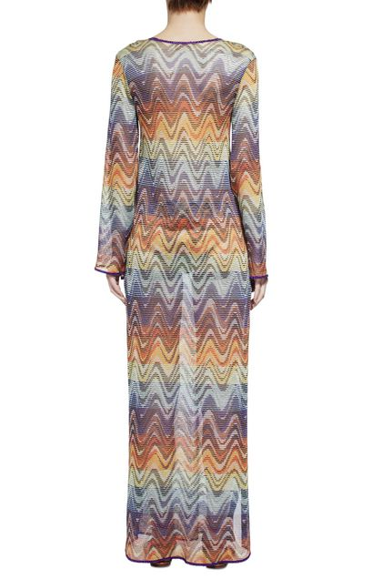 MISSONI MARE Long beach coverall Brown Woman - Front