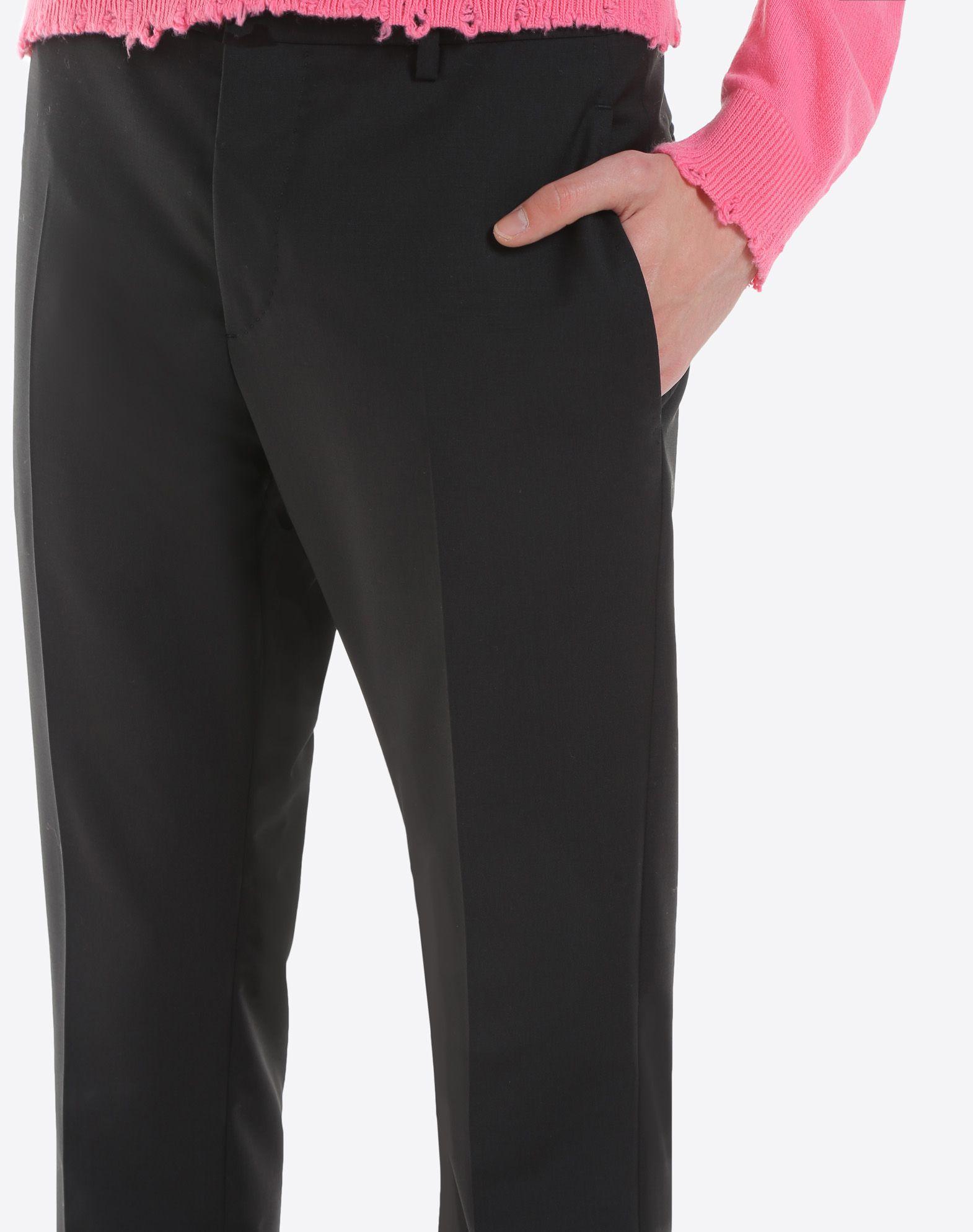 VALENTINO Slim-fit wool pants Pants U a