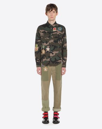VALENTINO Pants U Camouflage cargo pants  r