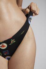 DSQUARED2 Patches Bikini Briefs Mode Plage Femme