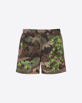 VALENTINO UOMO SWIMSUITS U Lunar Punk print swimwear f