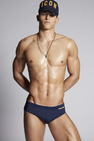 DSQUARED2 Swimming trunk Man D7B641700200 b
