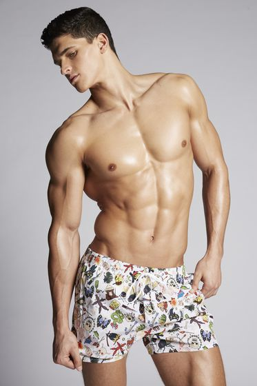 DSQUARED2 Swimming trunks Man D7B642270201 m