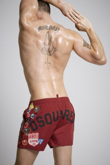 DSQUARED2 Swimming trunks Man D7B642270201 b