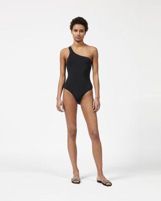 SAGE one shoulder swimsuit
