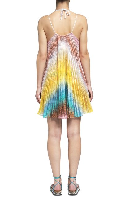 MISSONI MARE Short Beach Dress Yellow Woman - Front