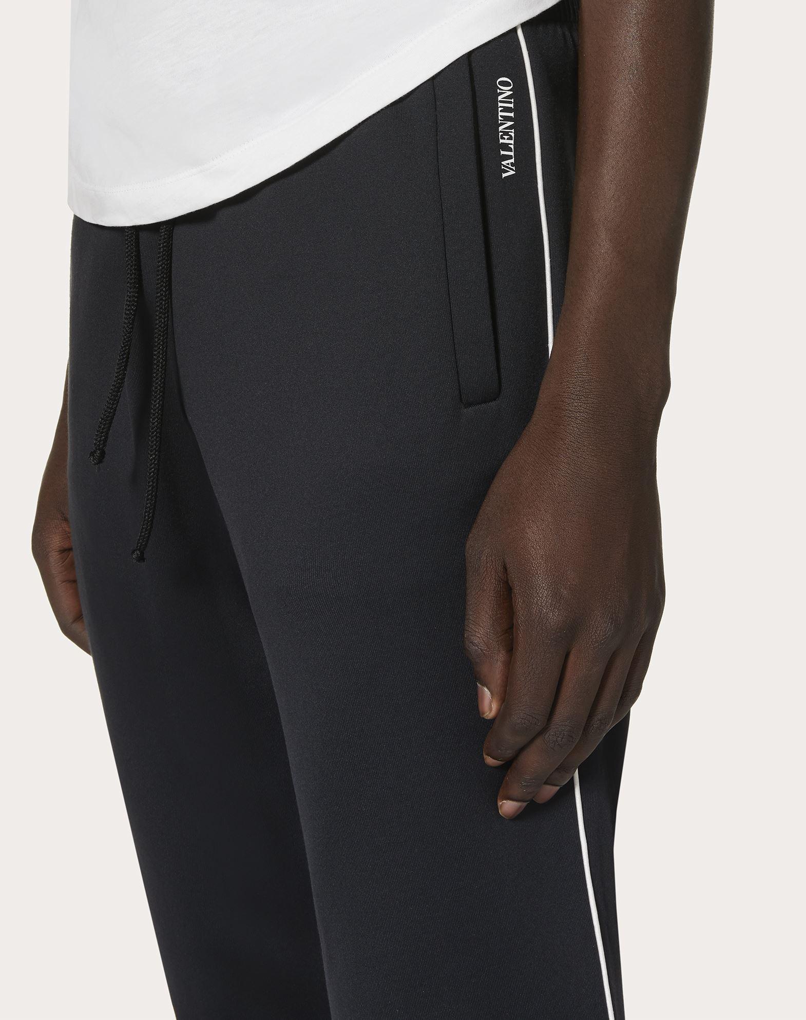 VALENTINO UOMO Pantalones jogger de punto   Pantalón U a