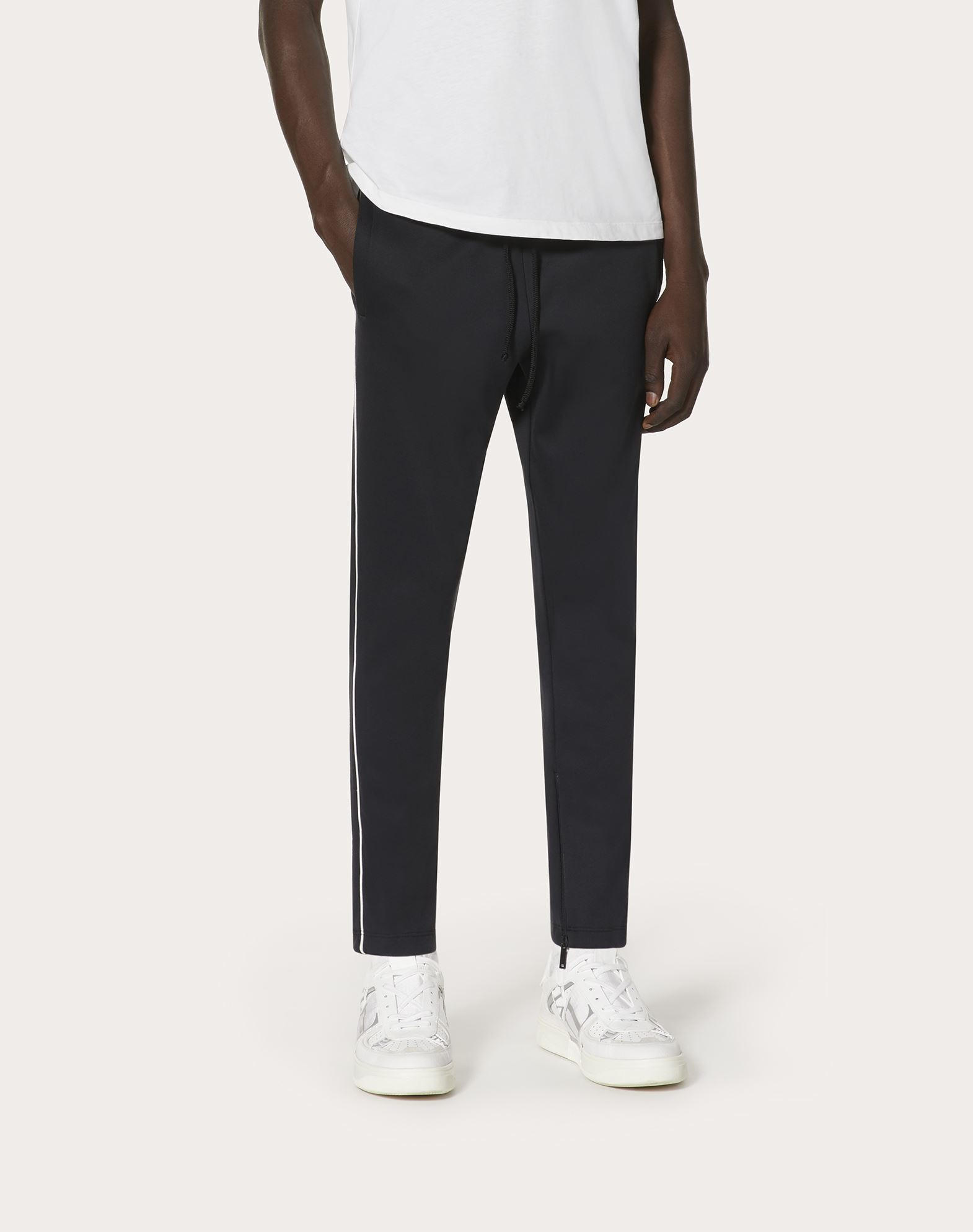 VALENTINO UOMO Pantalones jogger de punto   Pantalón U d