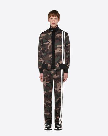 VALENTINO UOMO Pantalone U Jogging pants in jersey Camou Shuffle r