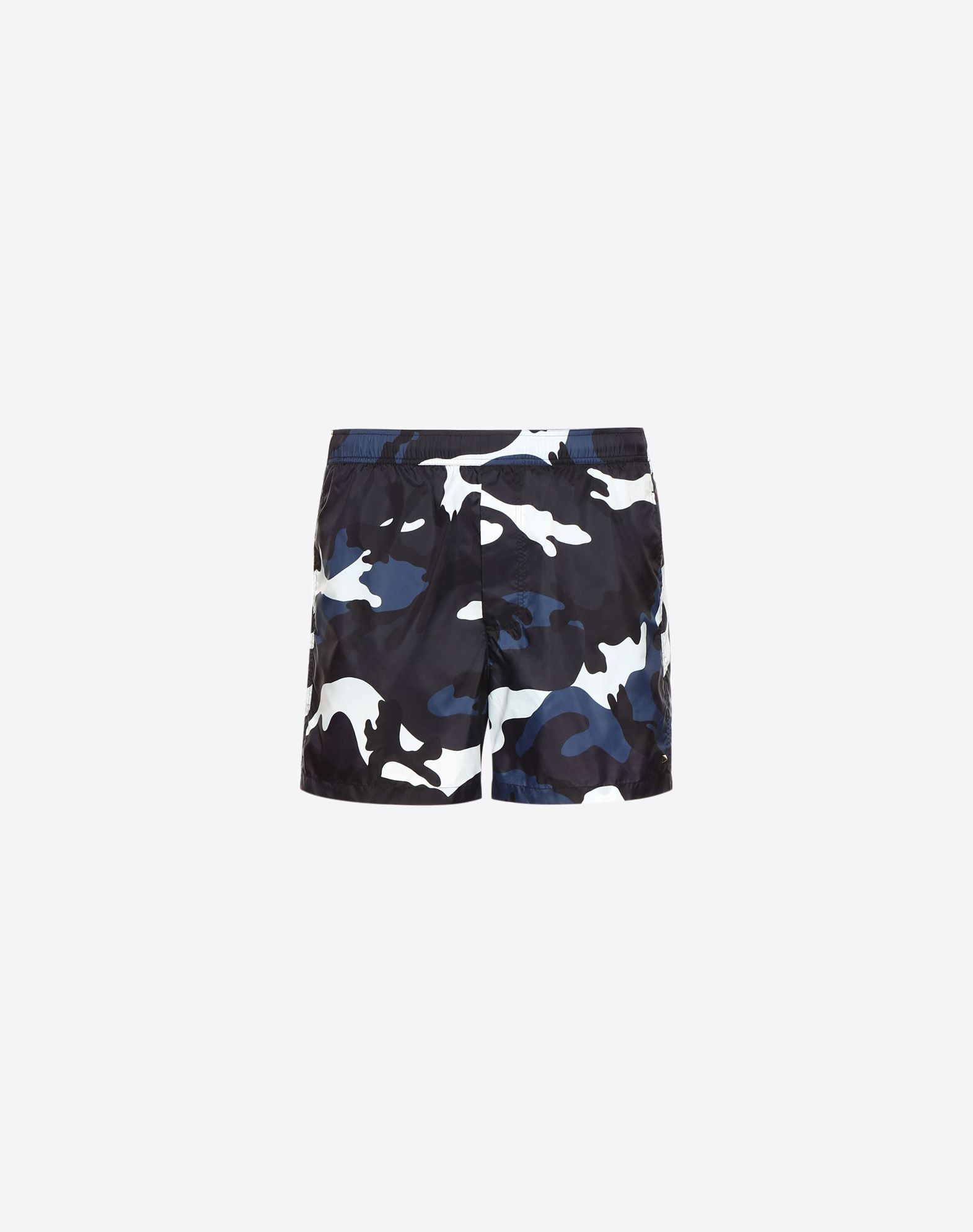VALENTINO UOMO Camouflage print swimming shorts  SWIMSUITS U f