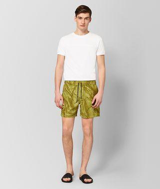 橄榄绿涤纶泳衣