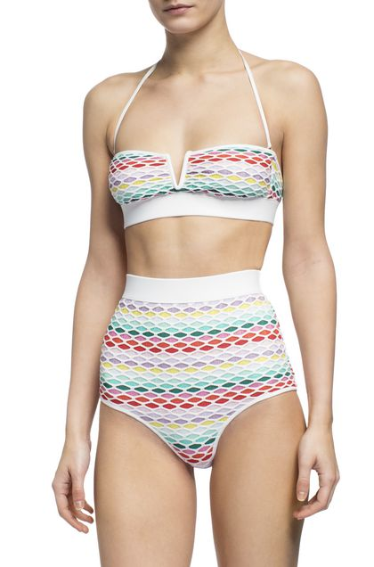 MISSONI MARE Bikini White Woman - Back