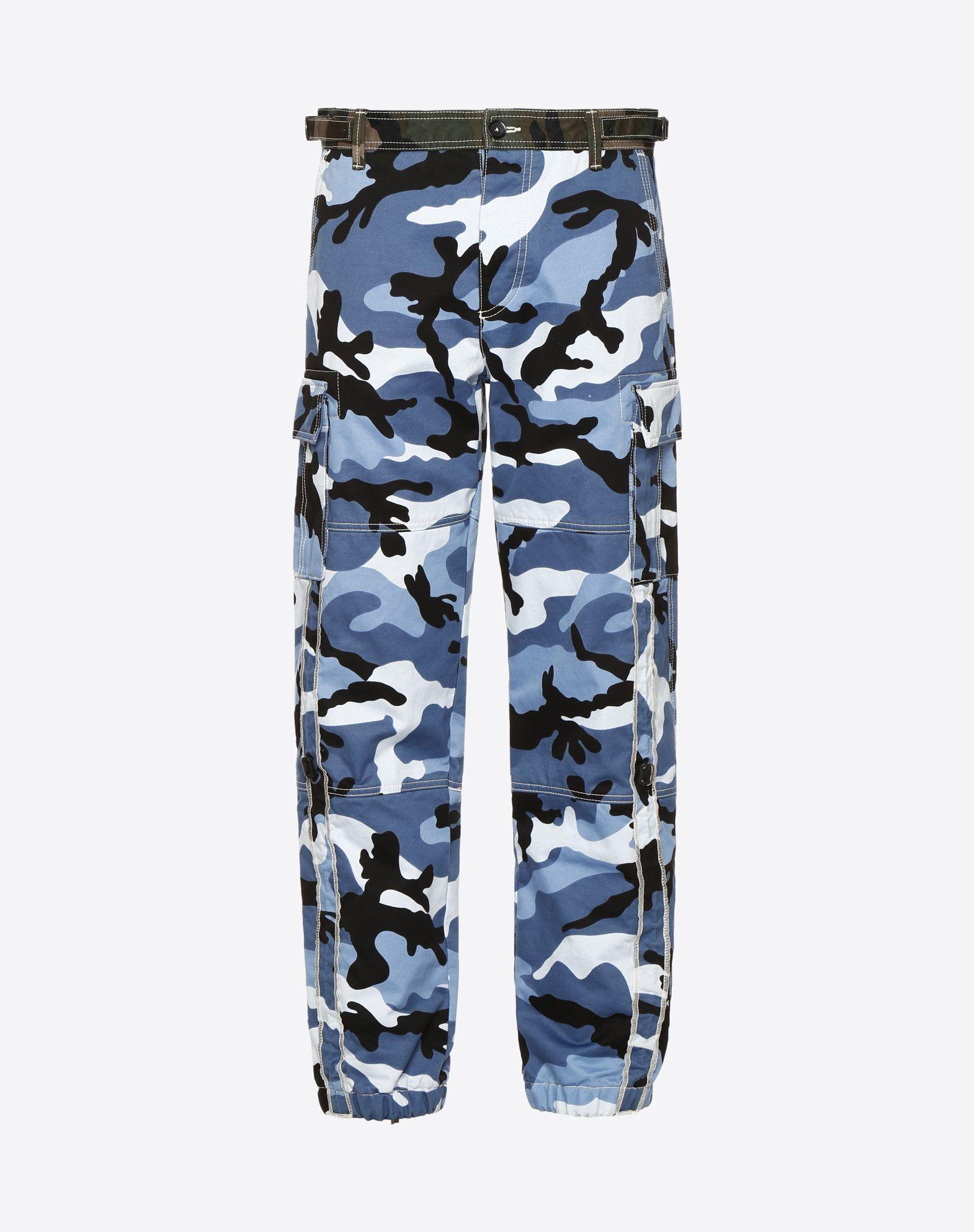 VALENTINO Camouflage cargo pants  Pants U f