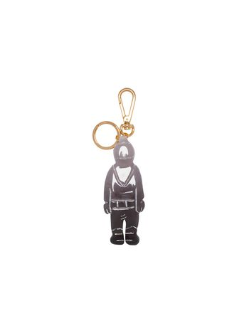 Marni Spaceman charm in resin by Frank Navin Woman