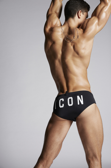DSQUARED2 Icon Swim Slips Slip de bain Homme
