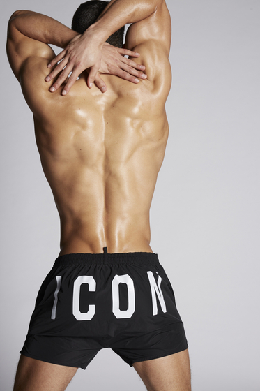 DSQUARED2 Icon Swim Shorts Caleçon de bain Homme