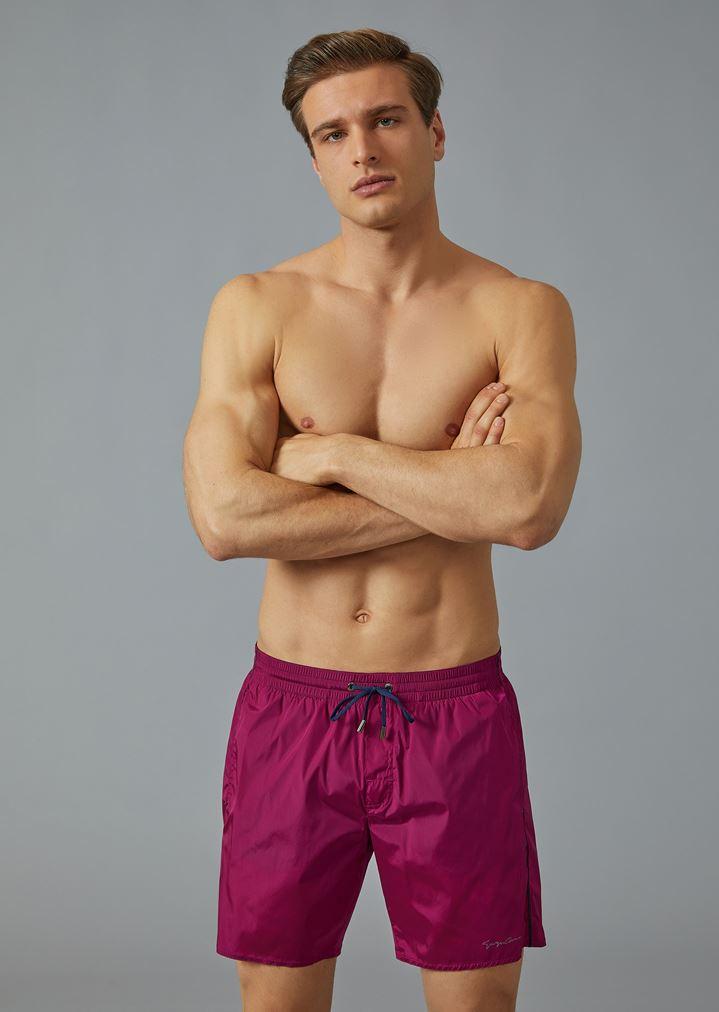 81ba09367f Swim shorts with drawstring | Man | Giorgio Armani