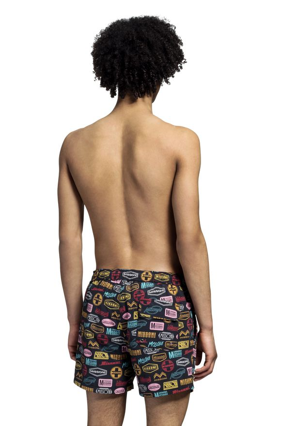 MISSONI Swimming trunk Man, Rear view