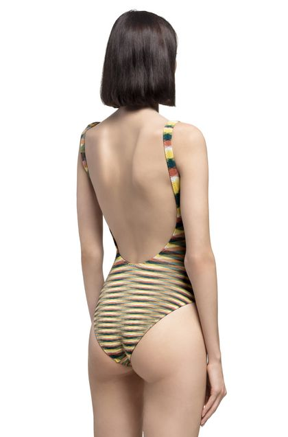 MISSONI MARE One-piece Yellow Woman - Front