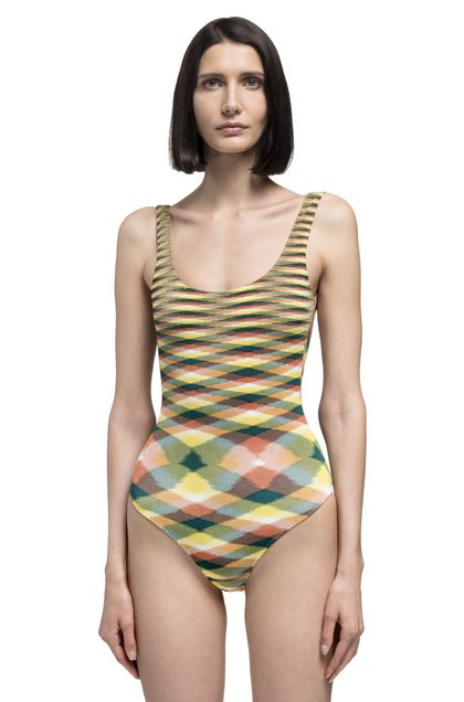 MISSONI MARE One-piece Yellow Woman - Back