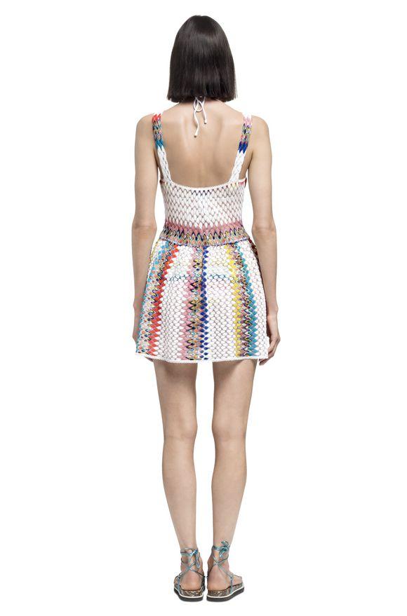MISSONI Короткое пляжное платье Для Женщин, Вид сзади