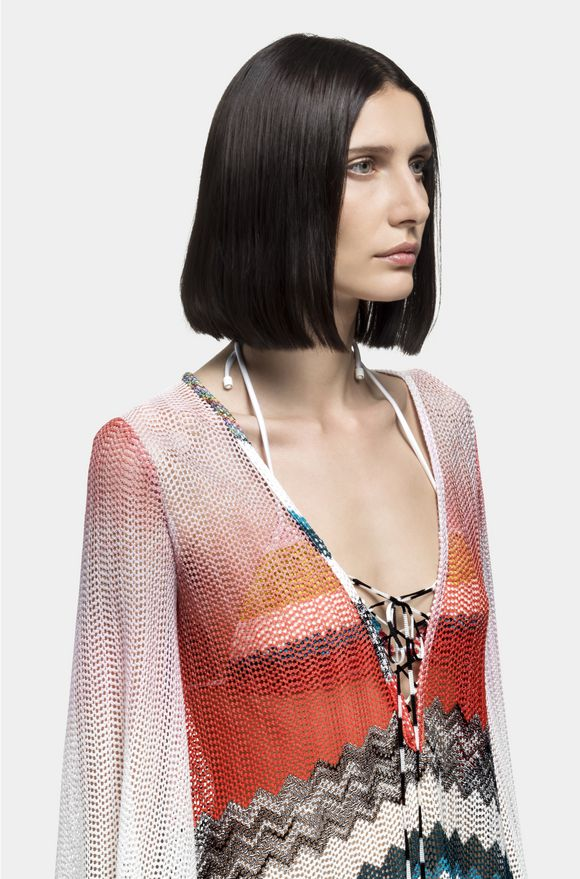 MISSONI Short Beach Dress Woman, Detail