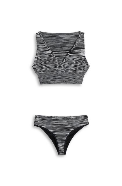 MISSONI MARE Bikini Black Woman - Back