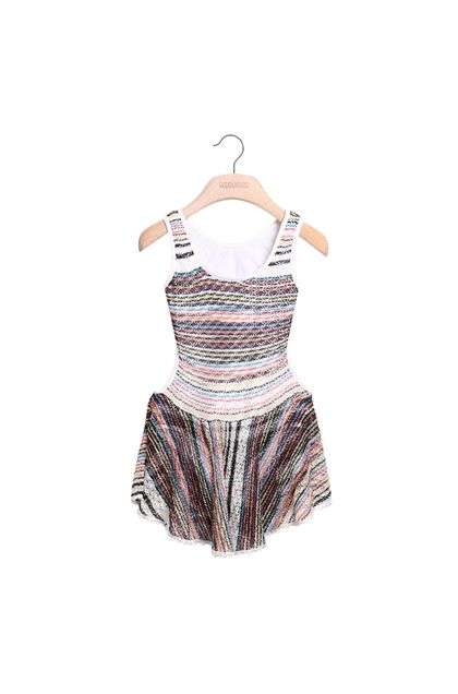 MISSONI KIDS One-piece White Woman - Back