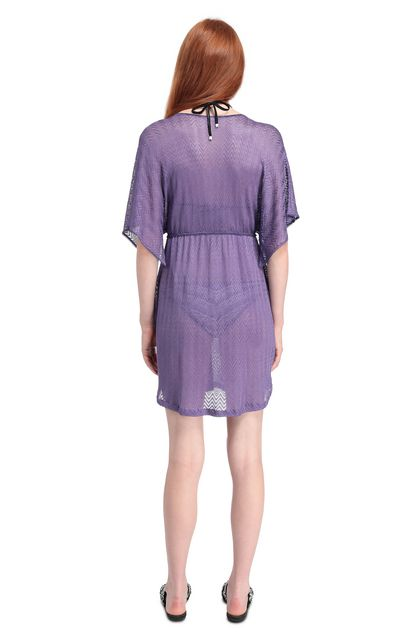 MISSONI MARE Short Beach Dress Purple Woman - Front