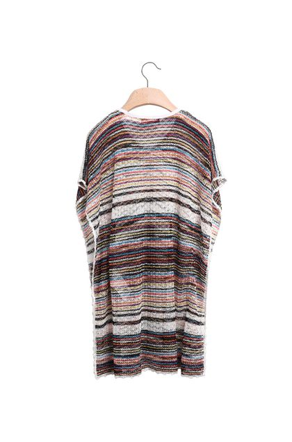MISSONI KIDS Short Beach Dress White Woman - Front