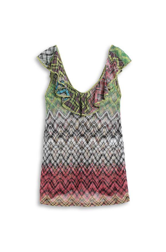 MISSONI Короткое пляжное платье Для Женщин, Вид без модели