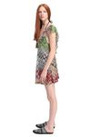 MISSONI Short Beach Dress Woman, Side view