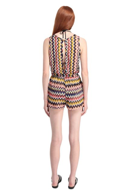 MISSONI MARE Beach Jumpsuit Purple Woman - Front