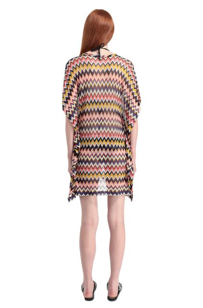 MISSONI MARE Kaftan Purple Woman - Front