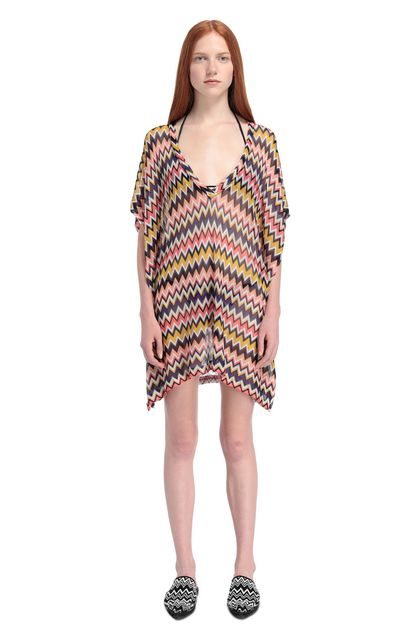 MISSONI MARE Kaftan Purple Woman - Back