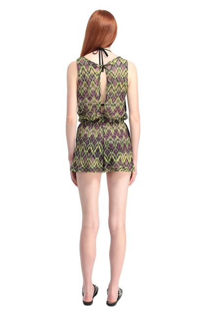 MISSONI MARE Beach Jumpsuit Green Woman - Front