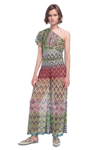 MISSONI MARE Beach Jumpsuit Yellow Woman - Back