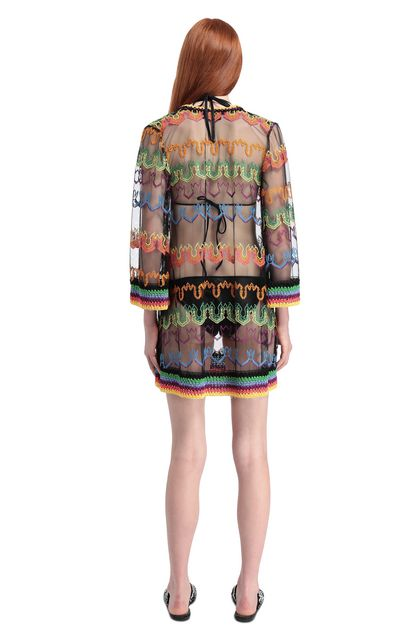 MISSONI MARE Kaftan Black Woman - Front